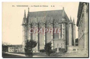 Old Postcard Vincennes La Chapelle du Chateau
