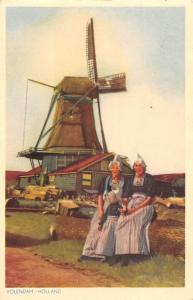 Netherlands Volendam Holland Mill Moule