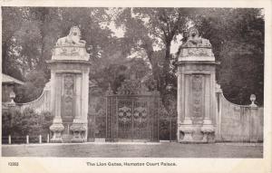 The Lion Gates, Hampton Court Palace, HAMPTON (London), England, UK, 1910-1920s