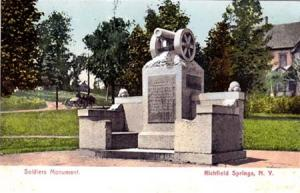 Soldiers Monument, Richfield Springs NY