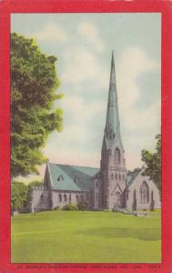 Exterior, St.George's Anglican Church,Owen Sound,Ontario, Canada,PU-1954