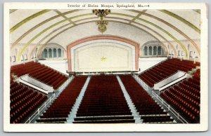 Springfield Missouri~Shrine Mosque Stage & Theatre Seating Interior~1920s PC