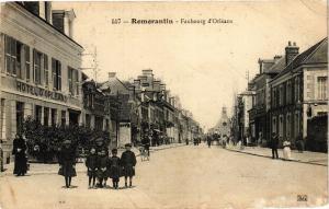 CPA ROMORANTIN - Faubourg d'ORLÉANS (208919)