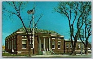 Broken Bow Nebraska~United States Post Office~Standard Chrome Postcard