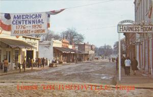 JACKSONVILLE, Oregon, 1940-1960s; Historic Gold Mining Town, Hotel, Harness Room