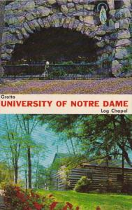 Indiana Notre Dame University Grotto and Log Chapel