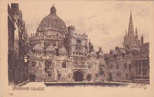 Brasenose College , OXFORD , England , 00-10s