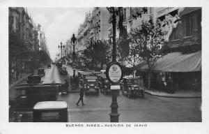 Argentina Buenos Aires, Avenida de Mayo, Voitures Cars