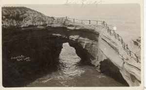 RP: SAN DIEGO , California, 1910s; Sunset Cliffs, Point Loma