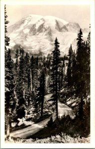 RPPC Montante Rainier National Park - Autostrada A Paradiso - 1930s Dops