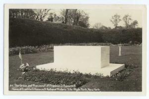 RP Franklin D. Roosevelt Grave Hyde Park NY New York