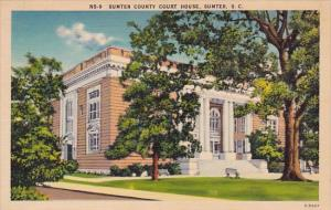South Carlina Sumter County Court House