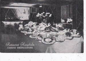 New York City Kungsholm Restaurant Smorgasbord Restaurant 1947