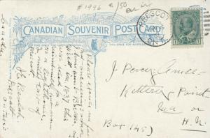 Windmill , PRESCOTT , Ontario, Canada, 1910 : #3