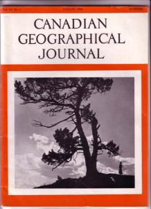 Canadian Geographical Journal, Magazine August 1955, Alberta Jubilee