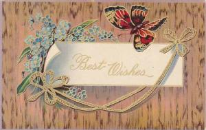 Butterfly Best Wishes