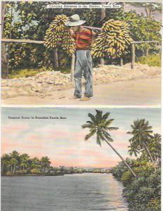 Greetings from Puerto Rico.  Souvenir Folder. 1948