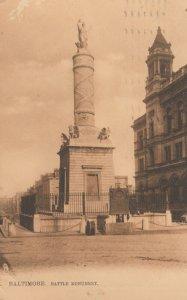 BALTIMORE , Maryland , 1901-07 ; Battle Monument ; TUCK