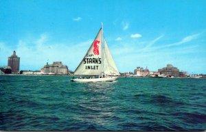 New Jersey Atlantic City Captain Starn's Restaurant & Boating Center Sai...