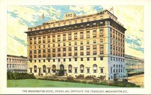 Washington D C The Washington Hotel
