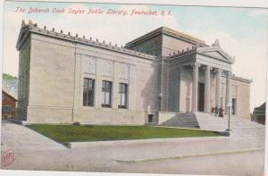 PAWTUCKET, Rhode Island, 1901-07 ;The Deborah Cook Sayles Public Library