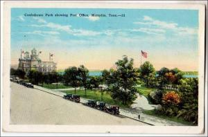 Confederate Park, Memphis TN