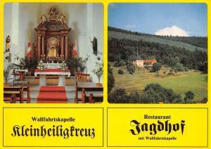 Wallfahrtskapelle Kleinheiligfreuz Restaurant Jagdhof mit Wallfahrtskapelle