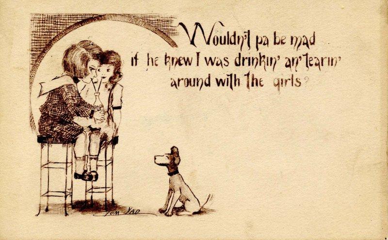 Wouldn't Pa be mad...     Artist: Tom Yad (aka Cobb Shinn)