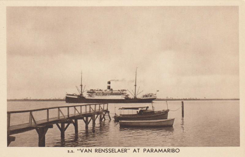 Paramaribo , Suriname , 1910s ; S.S.VAN RENSSERLAER