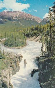 Canada Sunwapta Falls Jasper-Banff Highway Alberta