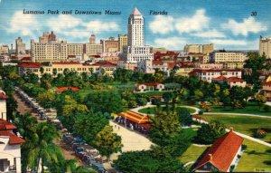 Florida Miami Lummes Park and Downtown