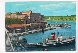 BRINDISI, Panorama e porto, Harbour, used Postcard