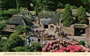 UK - England, Torban, Devon. Cockington Village