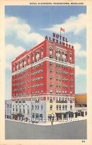 Hotel Alexander Hagerstown MD Unused