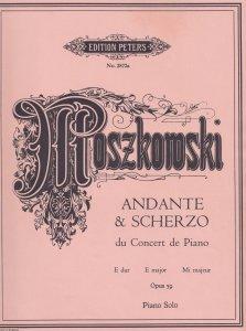 Moszkomski Andante & Scherzo Classical Sheet Music