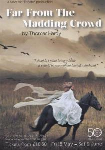 Far From The Maddening Crowd New Vic Theatre Gala Poster Postcard Style Card