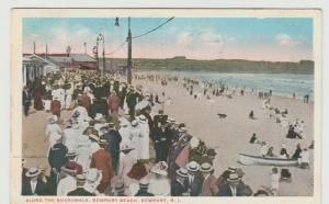 Newport Beach RI Rhode Island 1916 Postcard