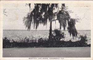 AUBURNDALE, Florida; Beautiful Lake Ariana, PU-1925
