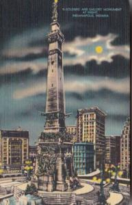 Soldiers' and Sailors' Monument Indianapolis Indiana