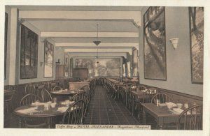 HAGERSTOWN , Maryland , 1930s ; Coffee Shop , Hotel Alexander