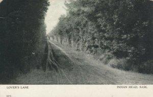 INDIAN HEAD , Saskatchewan, 1911 ; Lover's Lane