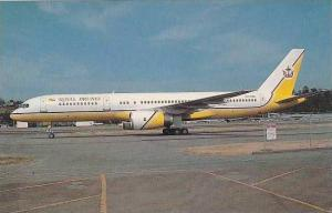 ROYAL BRUNEI AIRLINES BOEING 757-2M8