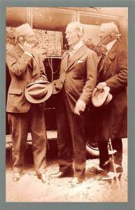 Guglielmo Marconi Listens In 1923 Nostalgia Reprint