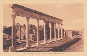 Tunisisa Tuburbo Majus Portique des Petronites