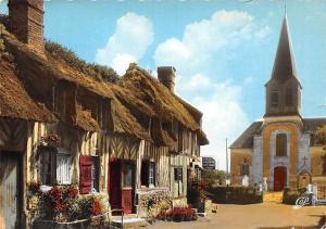 France La Luxuriante Normandie Maison Normande au toit de chaume