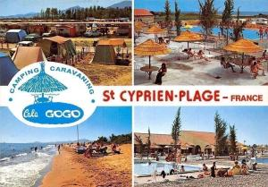 France St Cyrpien Plage, Camping Caravaning Cala Gogo Plage Beach Swimming Pools
