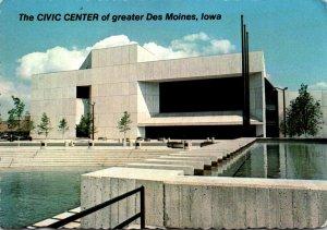 Iowa Des Moines Civic Center
