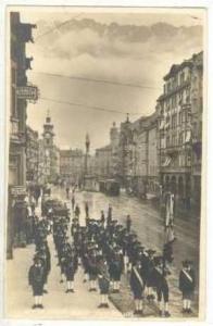 RP: Innsbruck, Austria, PU 1927, Peter Mayr-Bund, Band posing