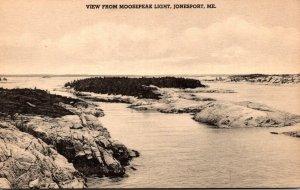 Maine Jonesport View From Moosepeak Light