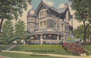DENVER, Colorado, 1930-40s; The Tiffin Dining Room, 1600 Ogden Street
